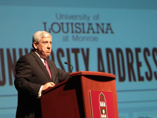 University of Louisiana at Monroe President Nick Bruno