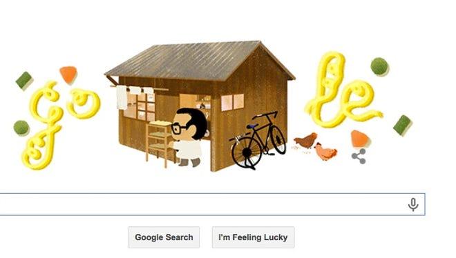 It would be Momofuku Ando's 105th birthday.