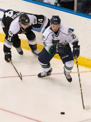 Matt Willows became the first Florida Everblades player to be named ECHL Rookie of the Year.