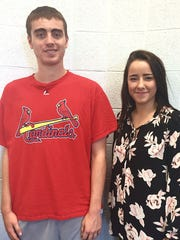 Nathan Snell and Liddie Sutton, students at Harpeth
