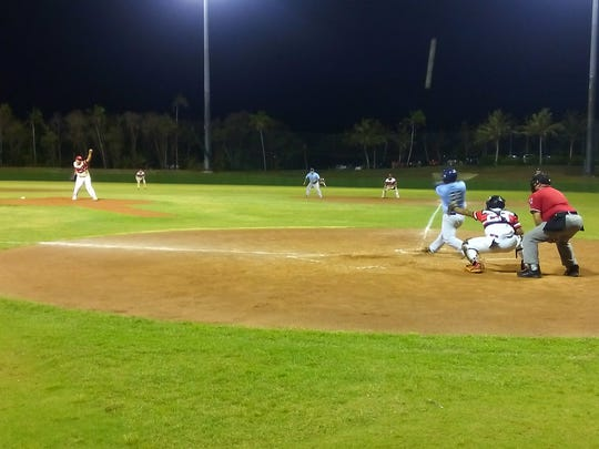 The Barrigada Crusaders defeated the Rays 12-2 on Tuesday