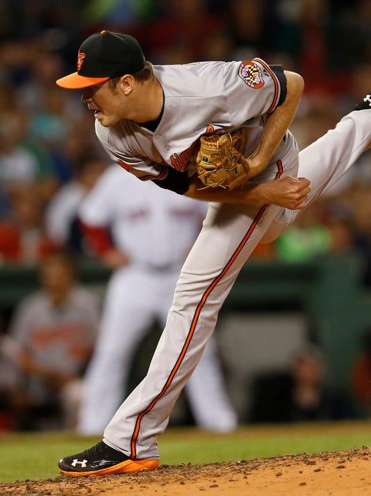 Baltimore Orioles-Boston Red Sox-tillman-8-29-13