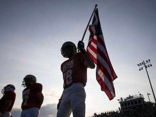 41st annual Shore Conference all-star football game