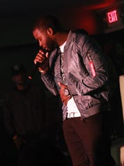 """Bama Baby performing his single """"51 Shades"""" in Atlanta, Georgia. He'll release his new single """"My City"""" for free on Sunday."""