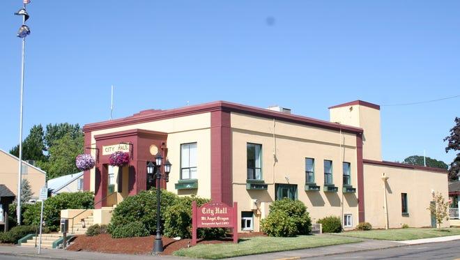 Current Mt. Angel City Hall.
