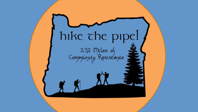 Opponents of a proposed pipeline across southwestern Oregon to carry natural gas to Coos Bay for export are planning a 232-mile hike highlight issues with the route.