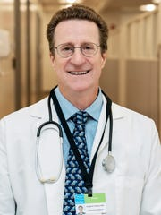 Dr. Douglas Hudson, a physician at the HRHCare Urgent