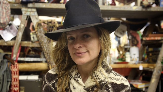 Jessie Matrullo is photographed in her vintage clothing business called Bohemian Royalty at the YOHO Artist Studios on Nepperhan Avenue in Yonkers.