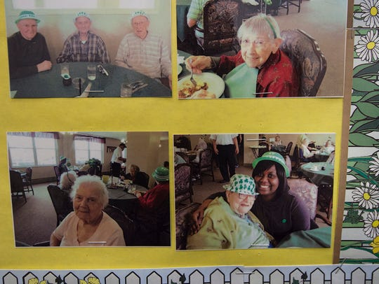 Jamese Preston is included in a wall of pictures with
