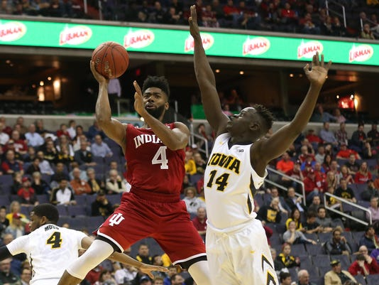 NCAA Basketball: Big Ten Conference Tournament-Iowa vs Indiana