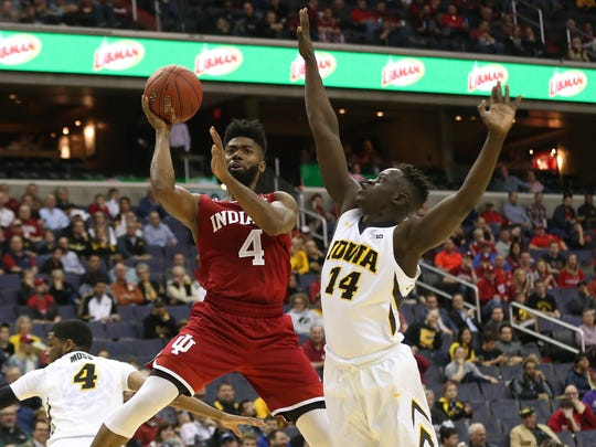 Robert Johnson is closing in on 100 starts and 1,000 career points for the Hoosiers.