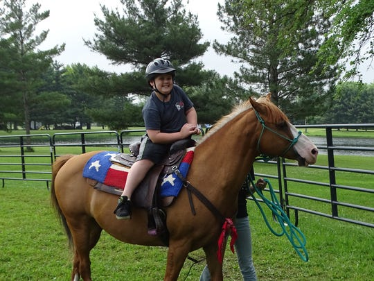 Cowboy Camp gives children the opportunity to ride