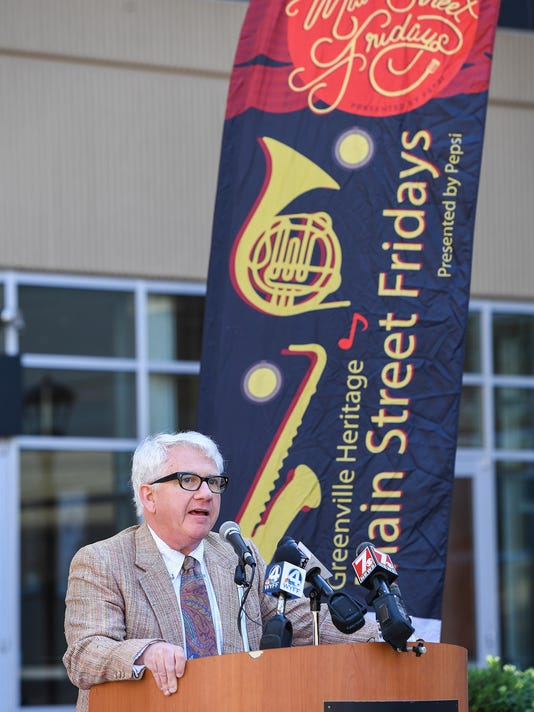 Downtown Music Series press conference