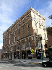 Toltec Club building located at the intersection of Magoffin Avenue and San Antonio Avenue in Downtown El Paso.