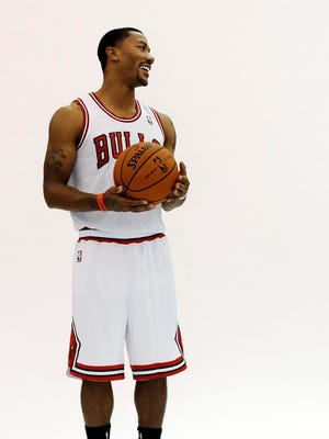 Derrick Rose is thrilled to be back for the Bulls this season.