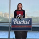 Rachel Barnhart kicks off Assembly campaign with rally