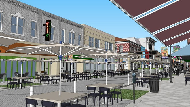 With restaurants restricted by state-imposed limits, West Palm Beach will let table service spill out onto sidewalks, streets, alleys and nearby lots.