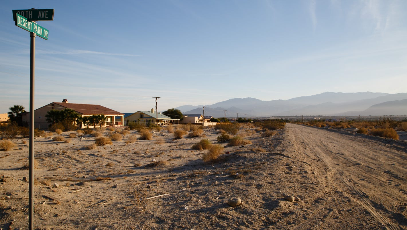 a new plan to protect homes from flash floods in the california desert
