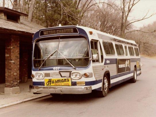 An early Queen City Metro bus.  Courtesy of Metro