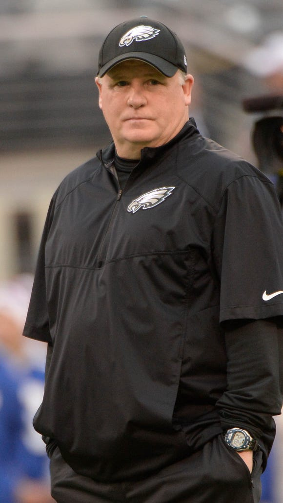 Eagles coach Chip Kelly differs from other head coaches with ultimate power, who were able to appoint their general managers who also oversee contract negotiations.