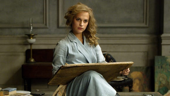 Alicia Vikander stars as the wife of a transgender