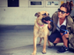 Shay Mitchell recently adopted a new dog, sharing some of their first moments together on her Instagram page.