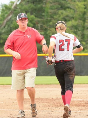Davenport Assumption's Ron Ferrill has been named the Register's All-Iowa softball coach of the year.