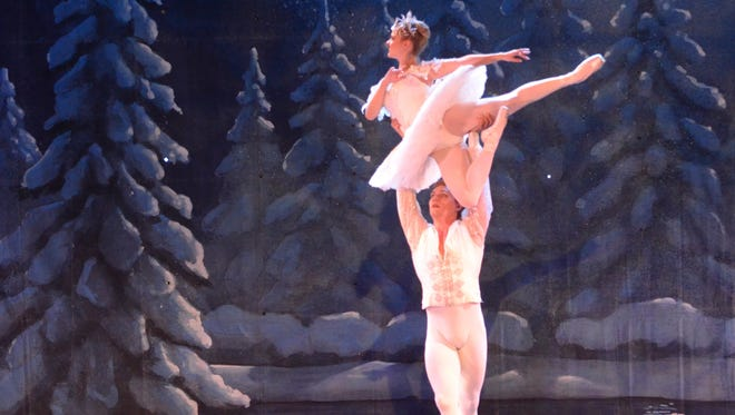 """Costumes and sets color Abilene Ballet Theatre's production of """"The Nutcracker,"""" which will be performed Nov. 17-19 at the Paramount Theatre."""
