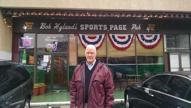 """Bob Hyland is closing his """"Sports Page"""" in White Plains, N.Y., after 44 years in the bar-restaurant business."""
