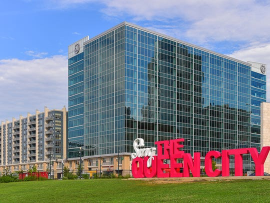 General Electric Co. workers are set to move into this