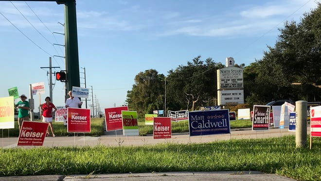 Voters headed to the polls Aug.28, 2018, for Florida's primary election.