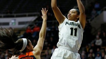 Oden helps carry Purdue women's basketball past Illinois 64-51
