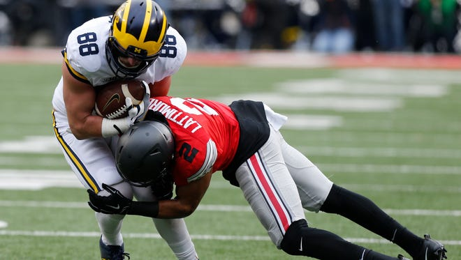 The Michigan-Ohio State game will be shown on Fox on Nov. 25.