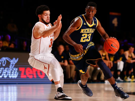 NCAA Basketball: Battle 4 Atlantis-Michigan vs Texas
