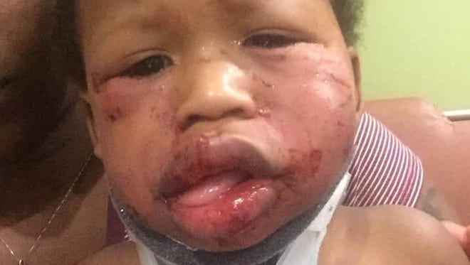 Tiffany Griffin's 1-year-old son.