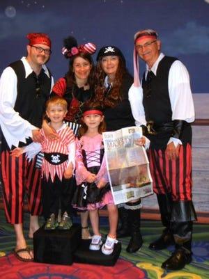 'Pirates' set sail on Disney cruise