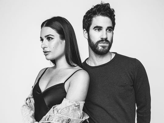 Lea Michele and Darren Criss will be touring together this summer, making a stop June 9 at NJPAC in Newark.