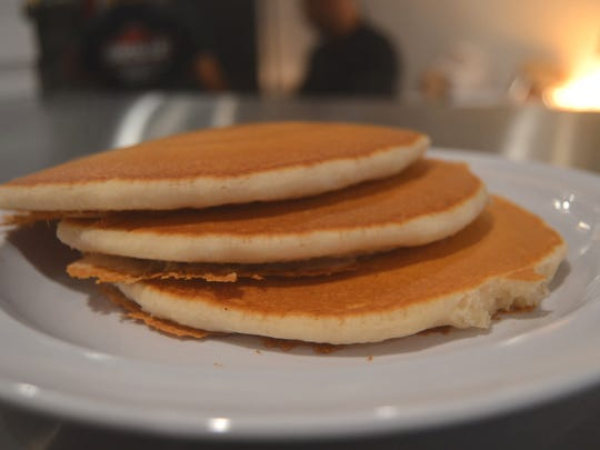 Pancakes at the Fanwood Grille.