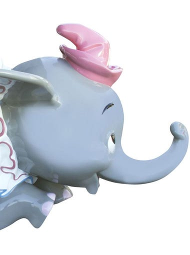 Dumbo is expected to soar as high at $150,000 in an auction of iconic Disneyland memorabllia.