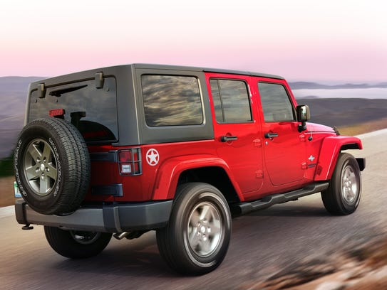 2014 Jeep Wrangler Unlimited rear