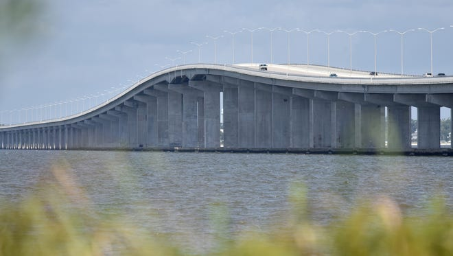 The U.S. 90 bridge between Bay St. Louis and Pass Christian was destroyed but Katrina, but rebuilt with a different elevation to try and prevent a repeat of the destruction.