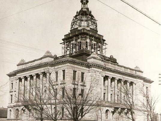 The Manitowoc County Courthouse