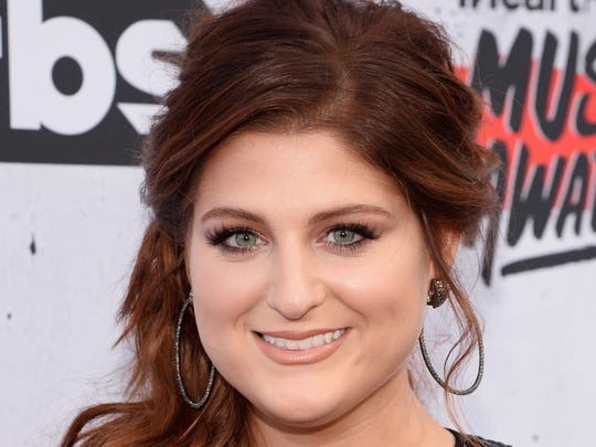 Meghan Trainor attends the iHeartRadio Music Awards