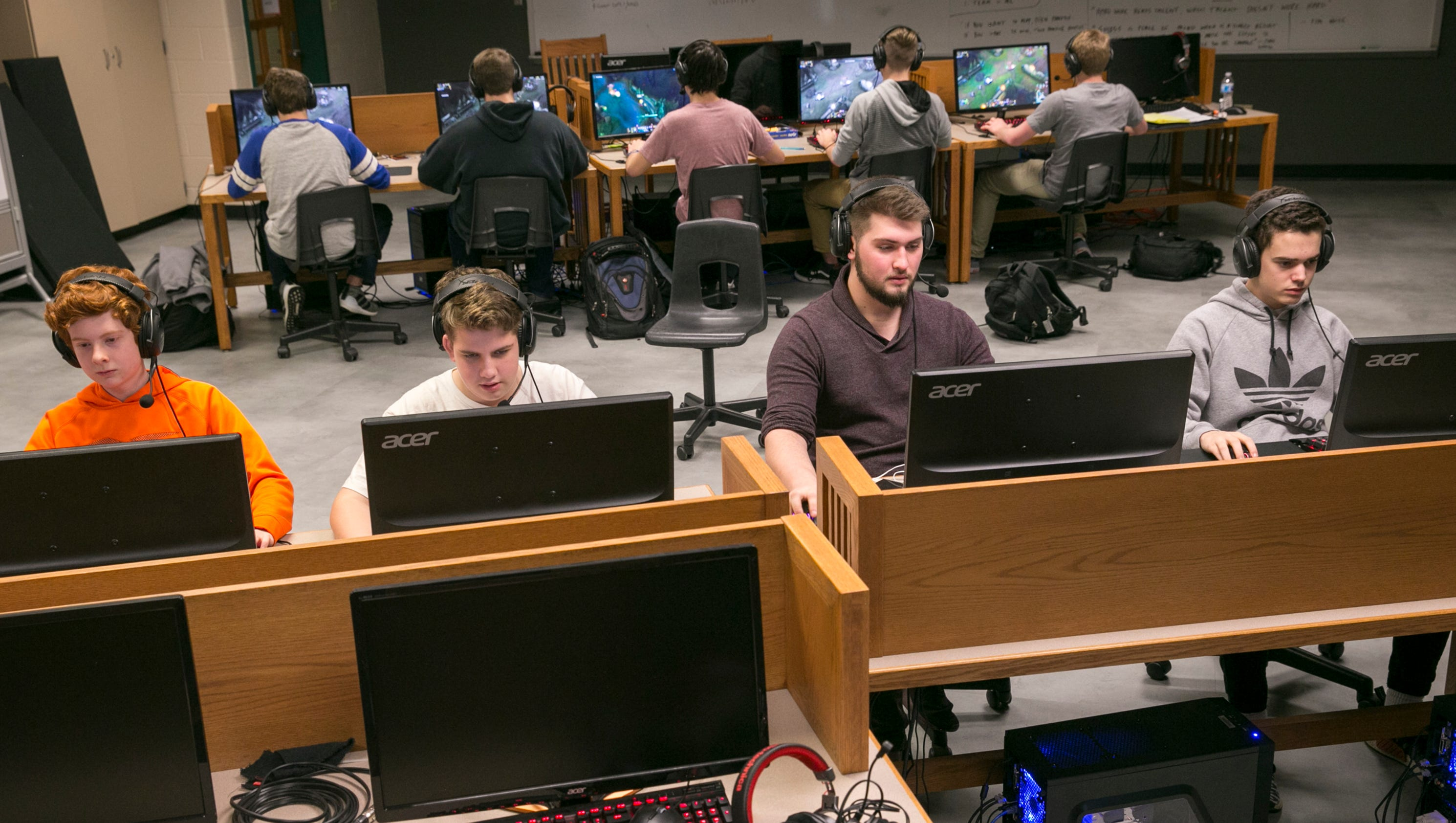 Noblesville students were among the first to get serious about video games. It's paying off.