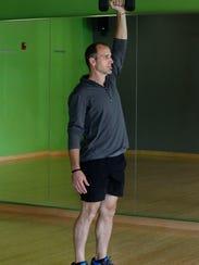 Garrett Stangel, personal trainer and wellness coach