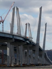 The Gov. Mario M. Cuomo Bridge as seen from Tarrytown