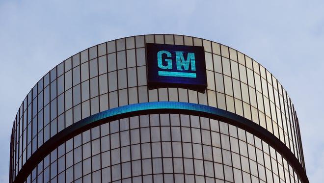 General Motors headquarters in downtown Detroit.