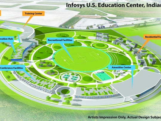 Infosys executives announcedplansto build a U.S.