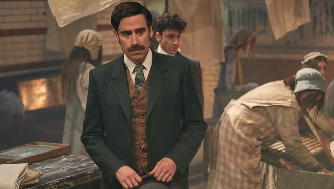 "HOUDINI & DOYLE: Stephen Mangan in the ""The Maggie's Redress"" series premiere episode of HOUDINI & DOYLE  airing Monday, May 2 (9:00-10:00 PM ET/PT) on FOX."