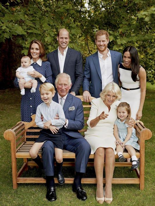 APTOPIX Britain Prince Charles